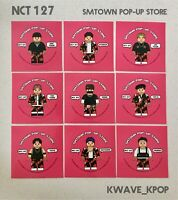 [RARE] NCT 127 -SMTOWN POP-UP STORE - OFFICIAL STICKER SET {9P / MEMBERS SET}