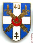 ARTILLERIE. 40 eme Rgt d'Artillerie, RA. homologué G.2161. Fab. Drago Paris