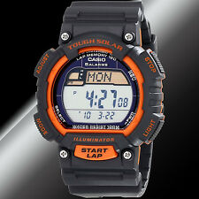 Casio STL-S100H-4A Tough SOLAR Watch Digital World Time 5 Alarms LED Light New