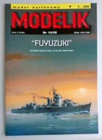 "ORIGINAL PAPER-CARD MODEL KIT - Japanese destroyer ""FUYUZUKI"""