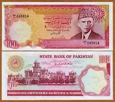 Pakistan, 100 Rupees ND (1981-1982), Pick 36, Sign. 9 W/H, Fractional Prefix UNC