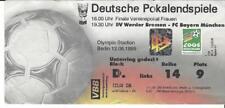 Sport-Event Tickets aus Bremen