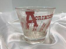 Vintage Alabama Crimson Tide #1 in '61 1961 National Championship Glass bowl