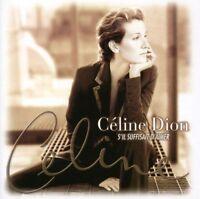 CD Céline Dion S'il suffisait d'aimer Neuf sous cellophane