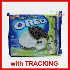 OREO Chocolate Sandwich Cookies COCONUT DELIGHT 9 Packs