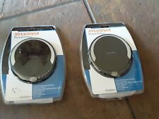 Sylvania Personal Programmable Cd Player with Earbuds Scd300Dg-4 New