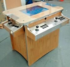 Arcade Machine 1000 Retro Games 2 Player Oak Cocktail Table Arcade, 2yr warranty