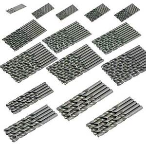 Metal HSS Metric Drill Bits Set 10pc / 5pc Packs 1.5 to 12mm for Steel & Wood