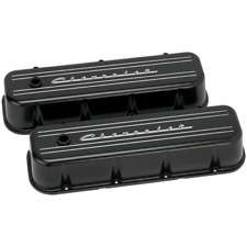 Billet Specialties BLK96123 Valve Cover BBC TAll CHEVROLET BLACK Big Block