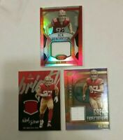 Nick Bosa 2019 Rookie Patch 3 Card Lot ROY San Francisco 49ers /199 & 2 Holo