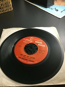 THE ROLLING STONES – brown sugar / get of my cloud  usa import solid rock label