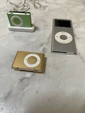 USED Bundle! 1 iPod And 2 Apple iPod shuffle Generation (2 GB) 3 iPods !