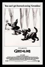GREMLINS * CineMasterpieces ORIGINAL RARE BEACH STYLE ORIGINAL MOVIE POSTER 1984