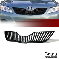 For 2010-2011 Toyota Camry Black Vertical Style Front Hood Bumper Grill Grille