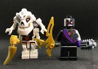 SAMUKAI BOSS  + NINDROID ROBOTIC NINJA  LEGO NINJAGO ARCADE DUO TOP