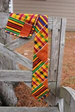 Kente Necktie and  handkerchief set - Style #1