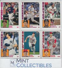 2019 Topps Series 1 1984 35th Anniversary Inserts - U Pick & Complete Your Set