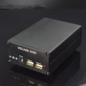 2020 HiFi PSU 2CH USB + DC 5V 15W  Linear Power supply For XMOS  CAS Raspberry