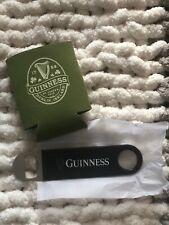 Guinness Koozie & Beer Bottle Opener Church Key Bartending