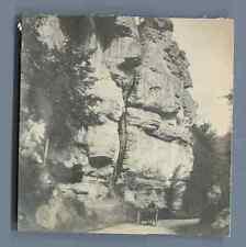 Belgique, Environs de Spa Vintage silver print.  Tirage argentique  7,5x8