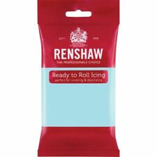 Renshaw Ready Roll Icing Fondant Cake Regalice Sugarpaste 250g DUCK EGG BLUE