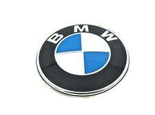 Emblem 82MM Motorhaube Heckklappe Vorne Logo für BMW E36 E46 E39 E90 1er 3er X3
