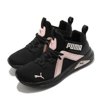 Puma Enzo 2 Shimmer Wns Black Pink Women Cross Training Shoes Sneakers 193714-02