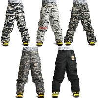 New Southplay Mens Winter Premium Military Ski-Snowboard Pants Or Denim Pants
