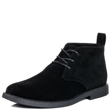 Mens Lace Up Flat Casual Desert Ankle Boots Shoes