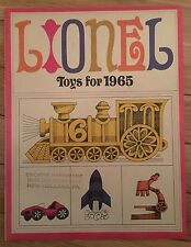 Lionel trains1965 catalog in Perfect Mint Condition!