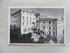 c1965/ 60s B/W Postcard. Hotel Engadinerhof, PONTRESINA,  Switzerland