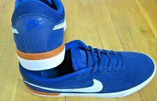 Nike SB Mens Koston Hypervulc Blue Void White Suede Skate Shoes Size 10.5 New