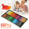 Pack of 50 Vivid Colors Oil Pastels Inscribe Gallery Drawing Assorted