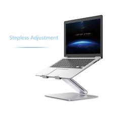 Al-alloy Laptop Stand Adjustable Ergonomic Sit to Stand Laptop Holder Convertor