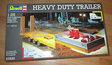 REVELL Heavy Duty caravane, Revell 07533 Kit Kit en 1: 25