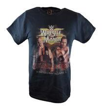 Wrestlemania 15 The Rock vs Stone Cold Steve Austin WWE Poster T-shirt
