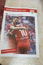 Stadion Aktuell, VFB STUTTGART: FC SChalke 04.,20-04 .2014