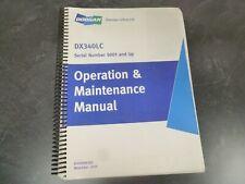 Doosan Daewoo DX340LC Crawler Excavator Owner Operator Maintenance Manual 5001-