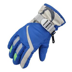 For Kids Boys Girls Ski Gloves Warm Waterproof  Breathable Sports Snow Gloves