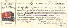 Schweiz-Wechsel von 1944-Spar- & Leihkasse Düdingen