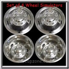 "Wheel Liners Simulators 2011-2012 Dodge Ram Truck 3500 Dually 17"" Metal Snap On"