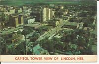 ag(E) Lincoln, Nebraska: Capitol Tower View of Downtown