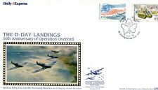 D-Day Landings Anniversary cover, Courseulles sur mer pk