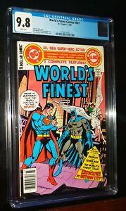 WORLD'S FINEST COMICS #261 1980 Superman Batman DC Comics CGC 9.8 NM/MT