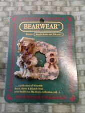 Boyds Bears And Friends Bearwear Pin, Bailey, Carpe Diem. Graduation Pin. 1995.