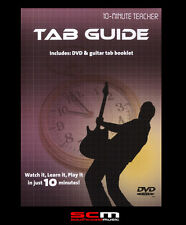 10-MINUTE TEACHER GUITAR TAB GUIDE DVD LEARN TO READ TABLATURE IN TEN MINUTES