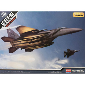 Academy 12550 1/72 USAF F-15E Eagle 333rd Fighter Squadron Plastic Model Kit Bra
