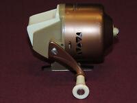 Vintage Bronson Wildcat #804 Spincast Reel, Works Great, Clean