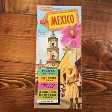 1963 Cartan's Mexico Travel Packages Brochure Fiesta Conchita Pepito Mexican
