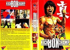 "VHS - FSK 18 "" Kickbox CHAMP ( The Tournament )"" (1974) Angela Mo - Carter Huang"
